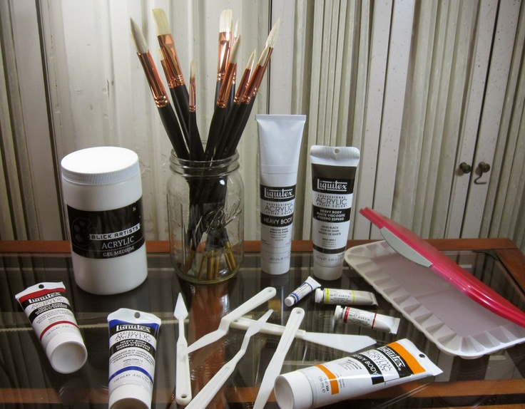 I get excited when those boxes show up on my porch with art supplies.