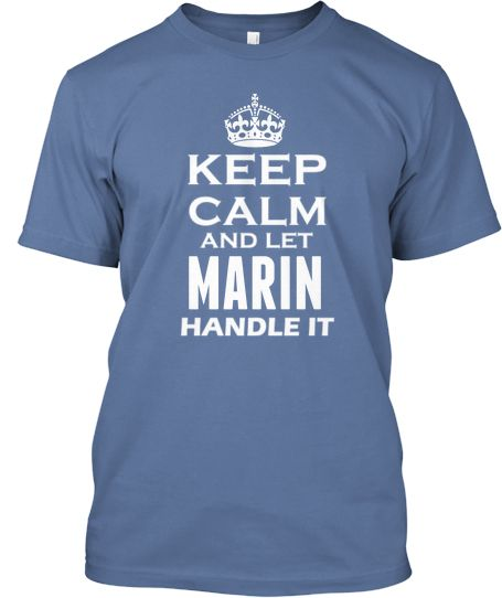 Are you a Marin, get your shirt now