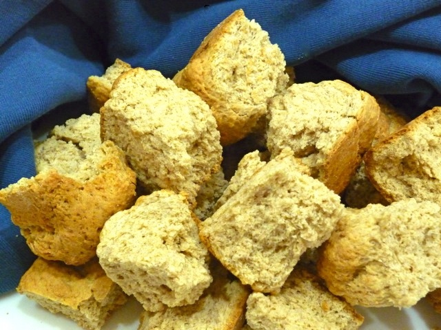 """Buttermilk rusks are biscotti-like cookies. They are traditionally served with the first cup of tea or coffee of the day, and are typically dunked in a warm drink before eating. Recipe in """"South African Cooking in the USA"""", page 184."""