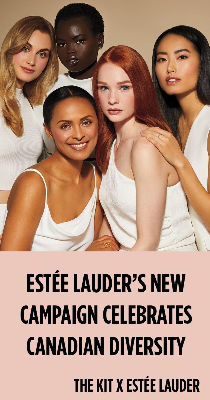 Estée Lauder's New Campaign Celebrates Canadian Diversity