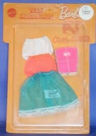 Barbie, P.J., Christie & Julia - (Teen Fashion Paks) #