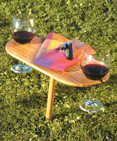 Take a look at this Outdoor Wine Bamboo Table  by Tovolo on #zulily today!: Outdoor Bamboo, Bamboo Wine, Wine Holders, Bamboo Tables, Outdoor Wine, Wine Tables, Glasses Holders, Wine Glasses Outdoor Holders, Zulili Today