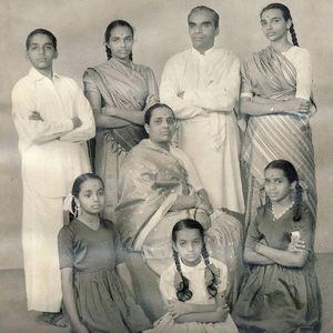 1960s: BKS Iyengar and his family ...... #bksiyengar #yoga #yogaguru #iyengaryoga #yogafounder