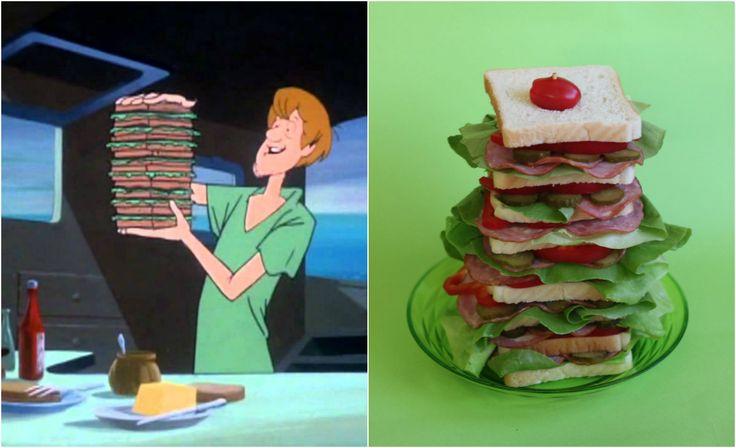 Scooby doo sandwich