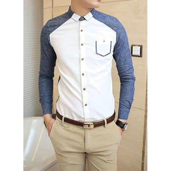 Еще две идеи мужских рубашек / Мужская мода / Своими руками - выкройки, переделка одежды, декор интерьера своими руками - от ВТОРАЯ УЛИЦА