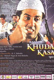 Khuda Kasam Movie Sunny Deol. While investigating the assassination of the Chief Minister, a CBI Officer is herself found guilty of this killing.