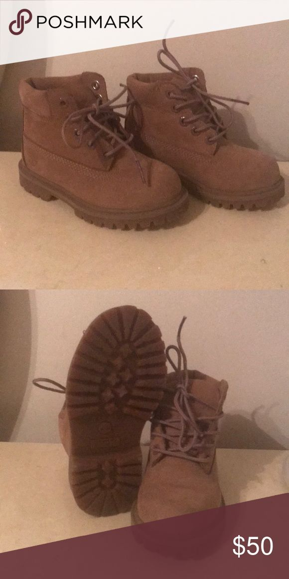 Tan Timberland boots for Toddler Gently worn to New boots Timberland Shoes Boots