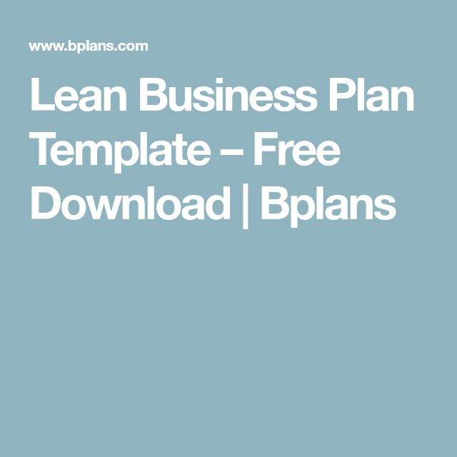The 25+ best Business plan template free ideas on Pinterest Free - business proposal template word free