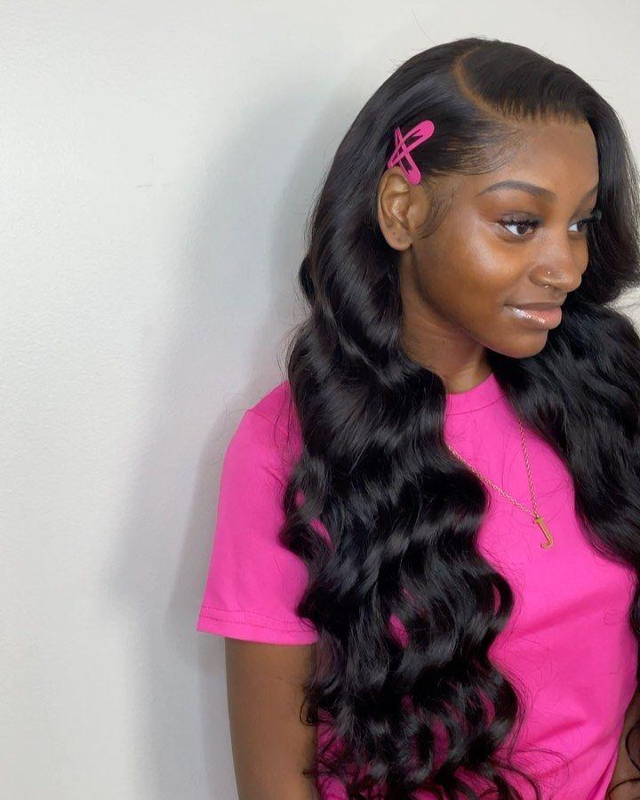 Slayedbyjordan On Instagram Laid This Custom Unit Totallygeeking Loose Deep Wave 26 26 28 28 20f Offici In 2020 Loose Waves Hair Wig Hairstyles Hair Waves