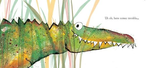 'Solomon Crocodile!' card image