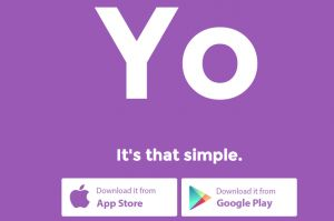 The new app is launched which is known as 'Yo' app. This is a real app which only does one thing only.