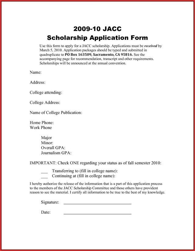 26+ Cover Letter For Scholarship Cover Letter Tips Application