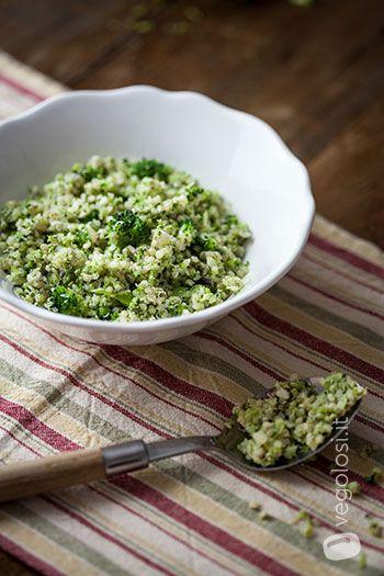 polpette quinoa e broccoli vegane e glutenfree