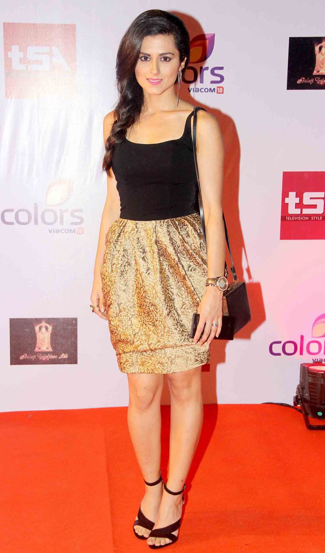 Riddhi Dogra at the Television Style Awards.