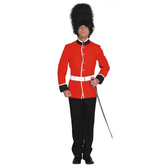 Engelse soldaat kostuum voor heren. Carnavalskleding 2016 #carnaval