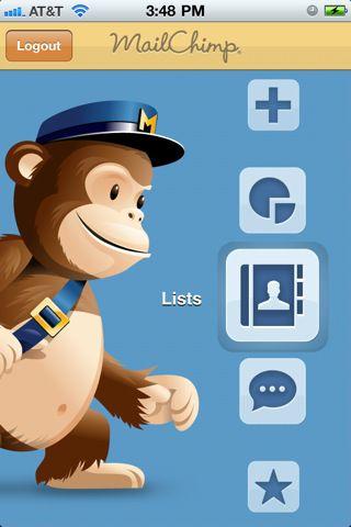 navigation on MailChimp