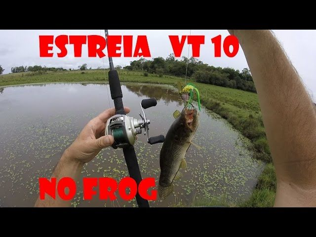 Pescando  traira  com FROG...