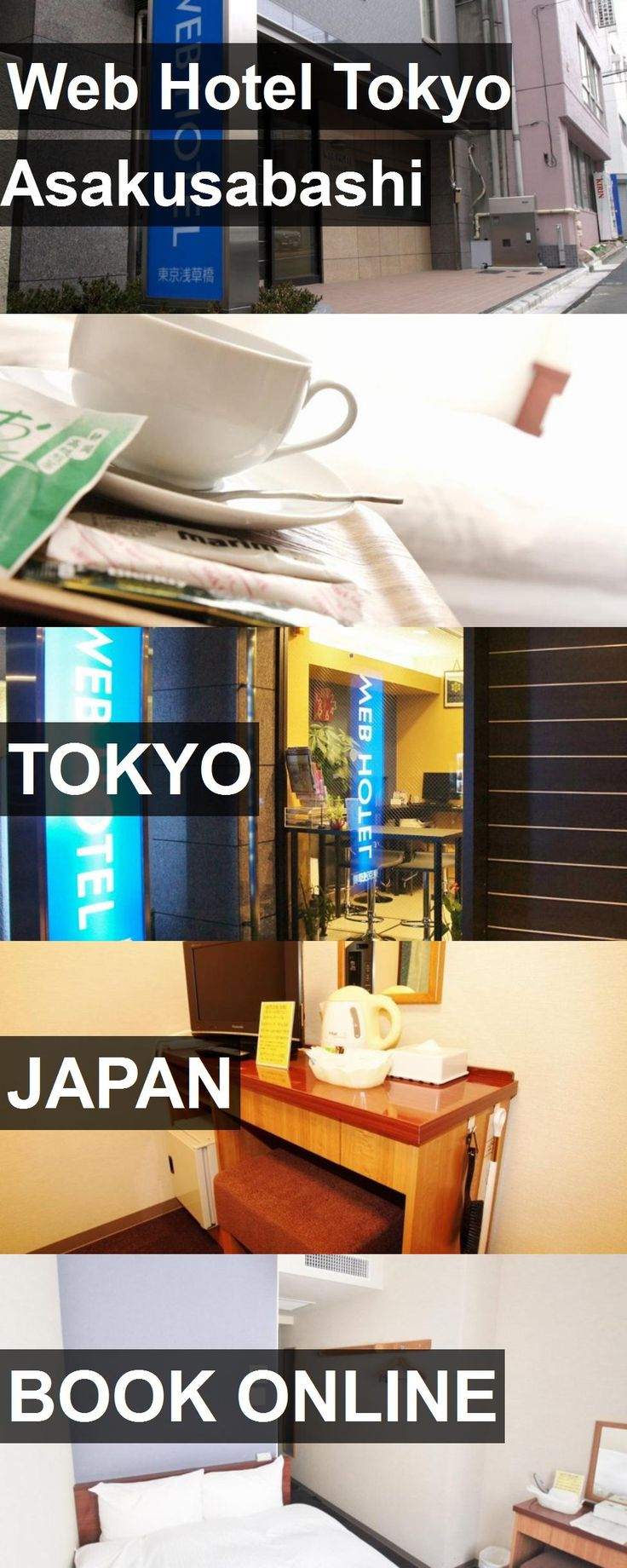Web Hotel Tokyo Asakusabashi in Tokyo, Japan. For more information, photos, reviews and best prices please follow the link. #Japan #Tokyo #travel #vacation #hotel