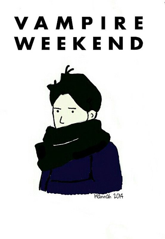 Vampire Weekend by HannahTopham