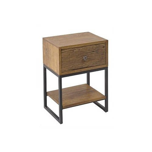 single drawer bedside table by out there interiors | notonthehighstreet.com
