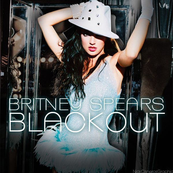 Britney Spears album covers   Cover World Mania: Britney Spears-Blackout Fan Made Album Cover!