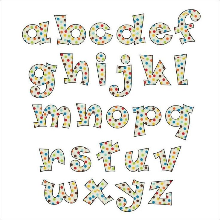 Funky Font - Applique Pattern | Craftsy