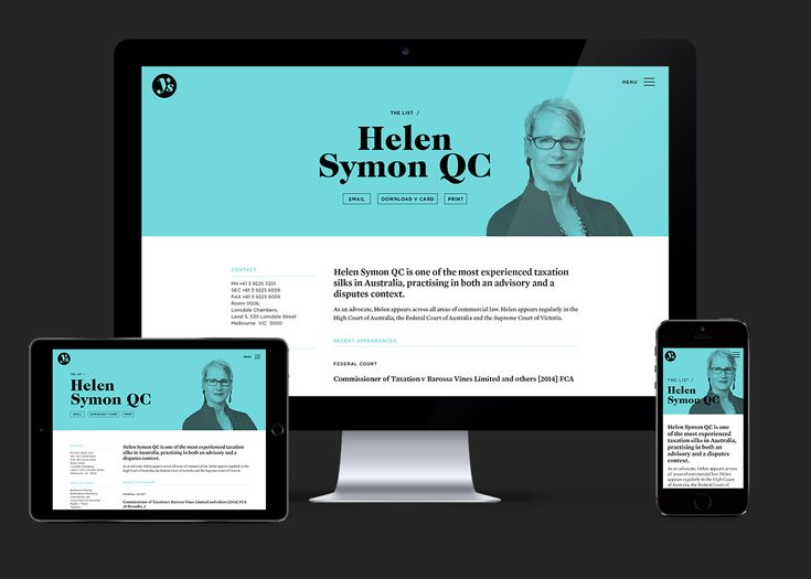 Youngs List Website Design | Studio Alto #rwd #responsive #webdesign #digital #interactive #design #agency #studio #brandcolour #bold