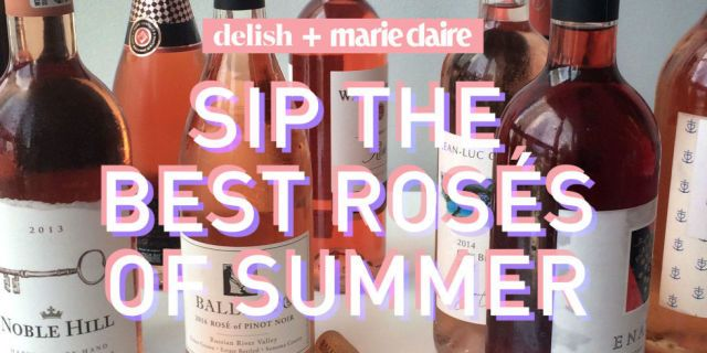 Here's Your Ultimate Rosé Drinking Guide  - MarieClaire.com