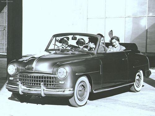 Fotografía comercial del Fiat 1.400 Cabriolet.