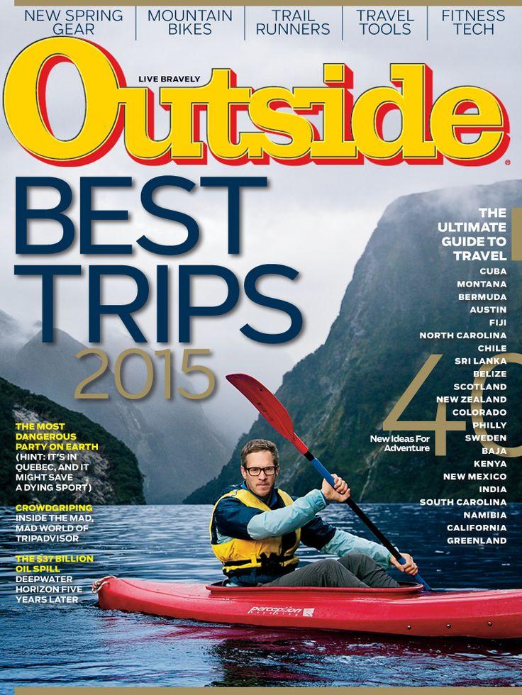 Best Outside Magazine Ideas On Pinterest Diy Living Room - Outside magazines travel awards 2015