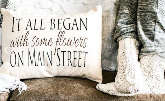 Personalized Pillow Cotton Anniversary Second Marriage Fiance Gift It All Began Love Story Making It Gift For Men Trending Now In 2020 Gifts For Fiance Cotton Anniversary Personalized Pillows