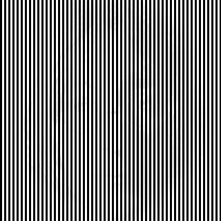 Line illusion 4.   When you first look at this optical illusion it just seems to be a square block of black and white lines, however if you move away from the image you will begin to see the face of John Lennon appear. This effect has been created by using very subtle shadows in between the lines which cannot be detected when you are standing too close to the illusion.