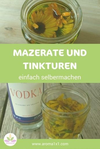 In der Aromatherapie und der Aromapflege werden neben ätherischen Ölen auch Pflanzenauszüge (Mazerate) verwendet. Beispiele dafür sind Ringelblumenöl, Johanniskrautöl und Arnikaöl.