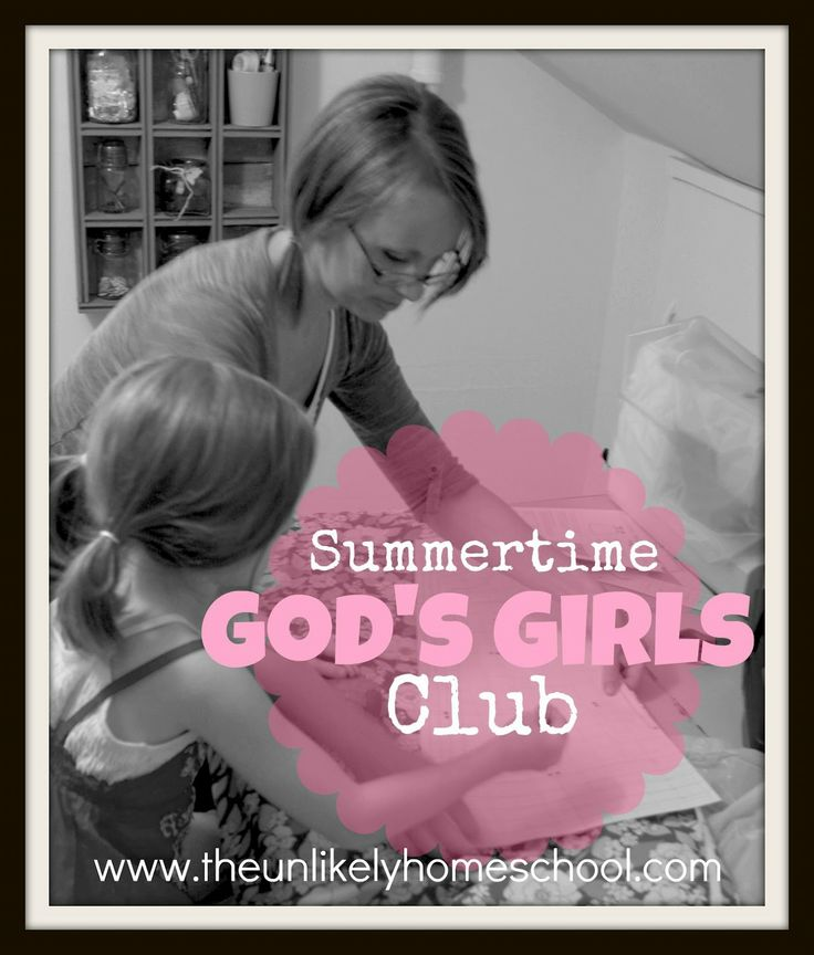 Summertime God's Girls Club: Service (Training my daughter and her friends to be a Proverbs 31 girl.)