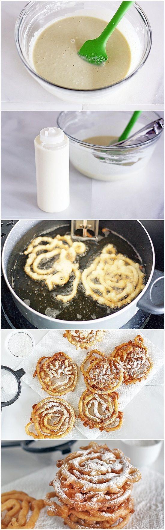 Buñuelos con harina para hot cakes