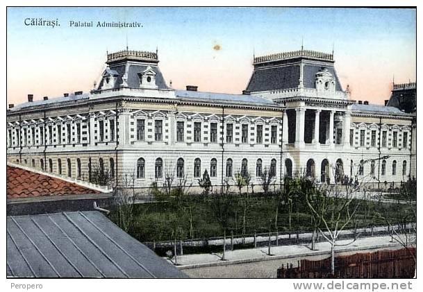 Calarasi - Palatul Administrativ - antebelica