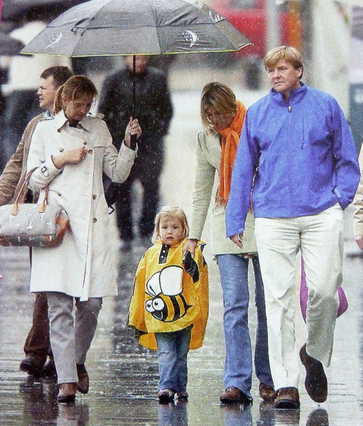 tripje Barcelona in de regen
