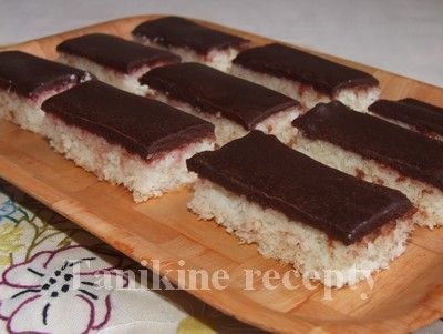 Kokosové rezy :: Recepty