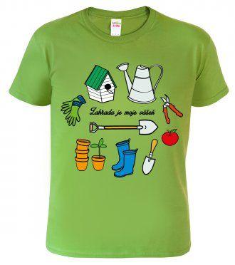 Tričko pro zahrádkáře - Nářadí