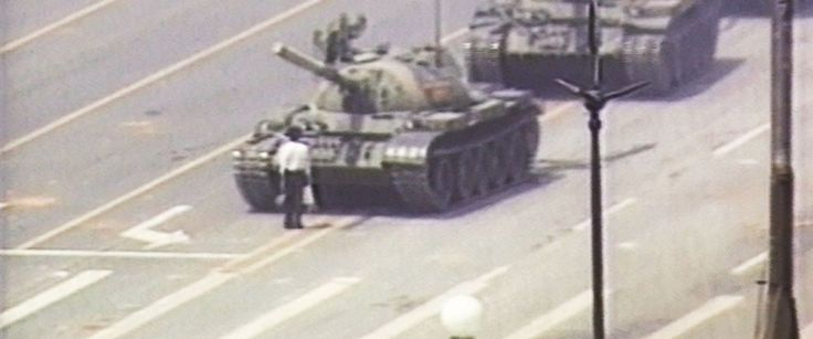 Tank Man at Tiananmen Square