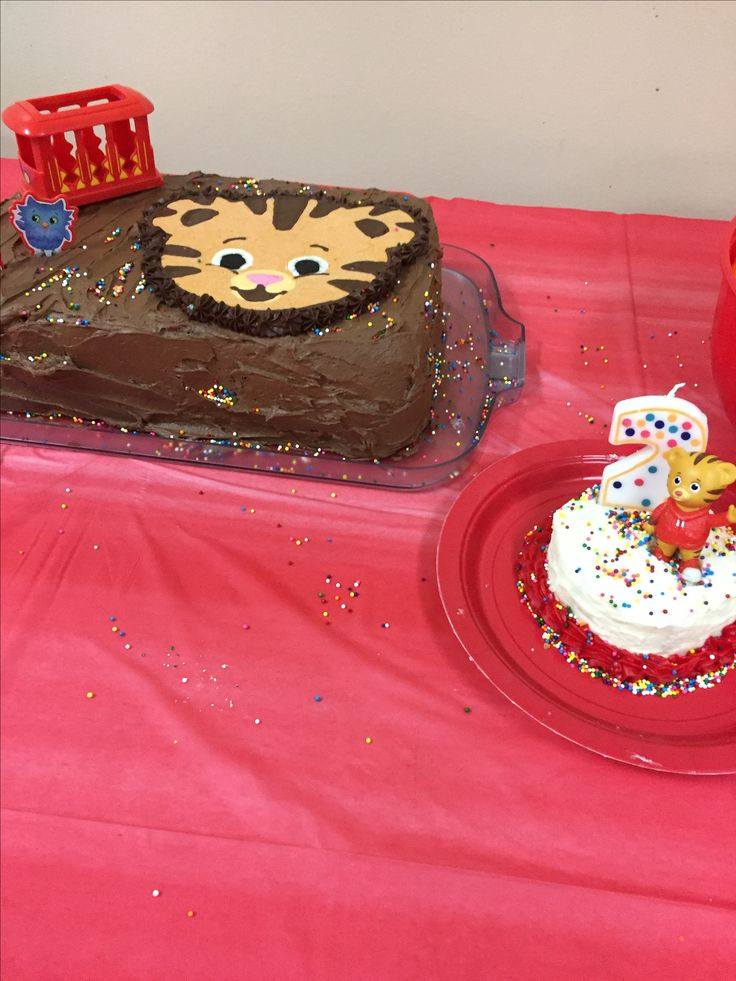 Daniel tiger 2nd bday