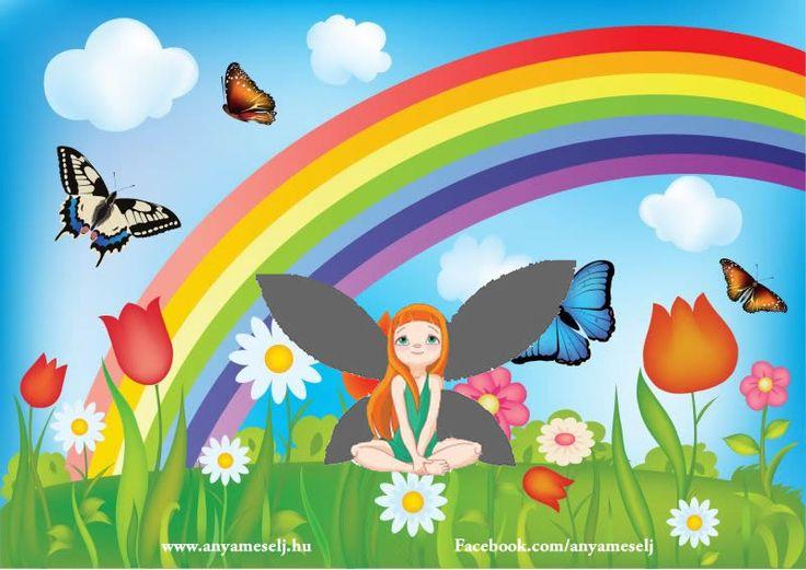 A szürke pillangó A pillangók távol az emberektől egy virágos réten éltek , színes virágkehely formájú házikókban. A felnőtt pillangók virágról virágra repülve gyűjtögették a nektárt, míg gyermekeik a pillangó iskolába jártak.  Katt ide a folytatáshoz:  http://www.anyameselj.hu/a-szurke-pillango/