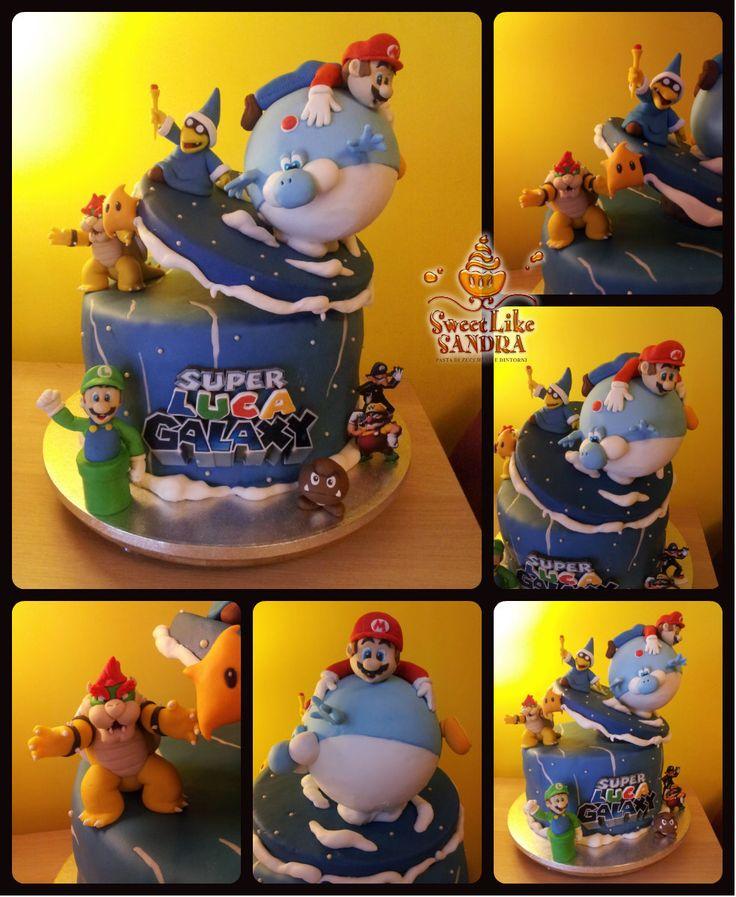 Mario Galaxy cake