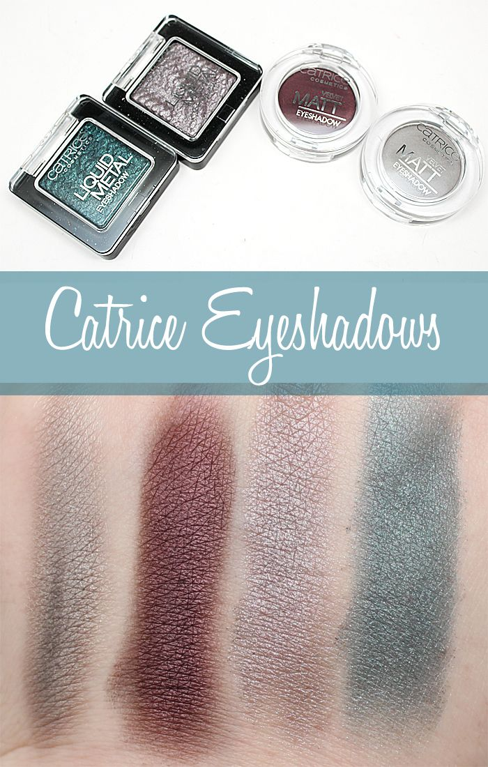 Catrice Eyeshadows