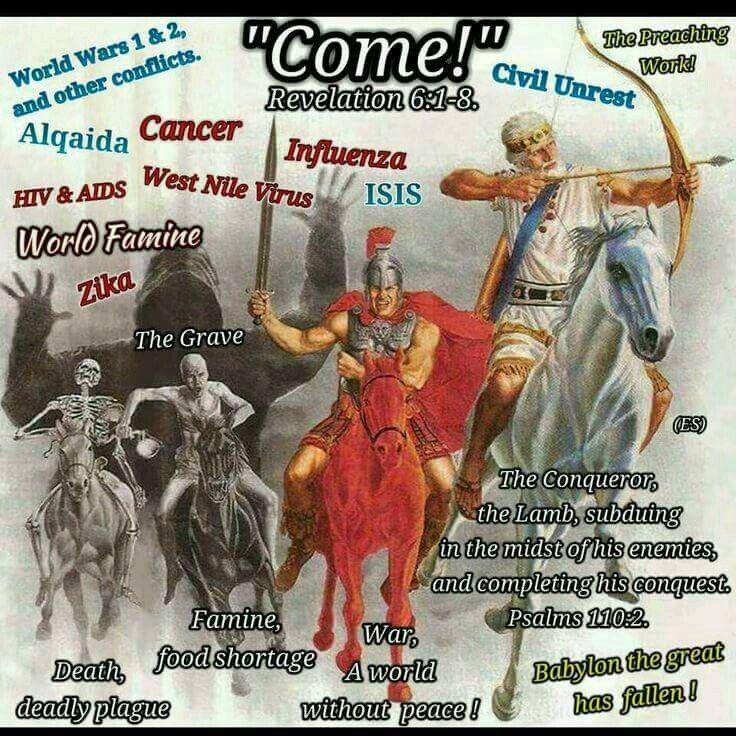 Come! - Revelation 6:1 - 8.