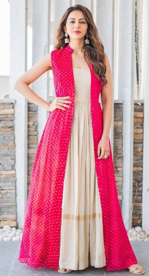 Long Net Jacket Design Long Net Open Gown #Long #Net # ...