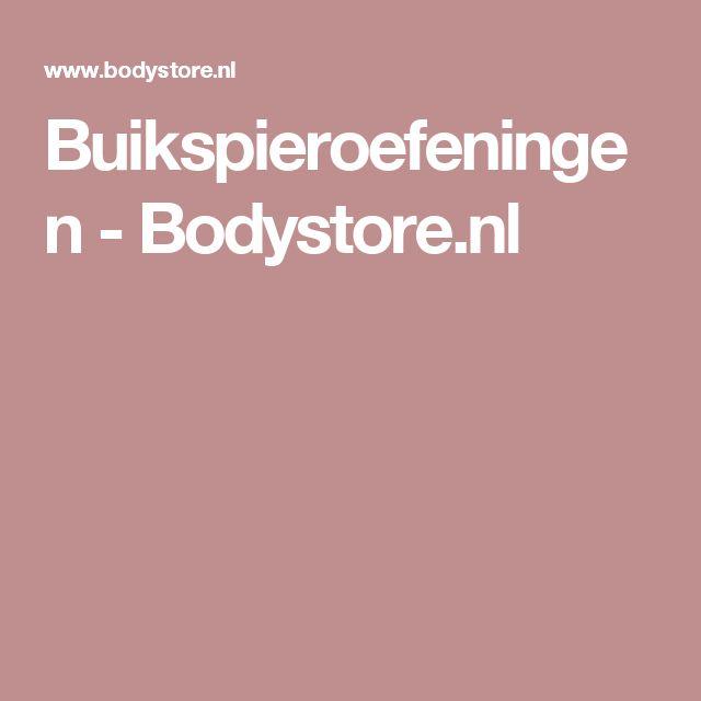 Buikspieroefeningen - Bodystore.nl