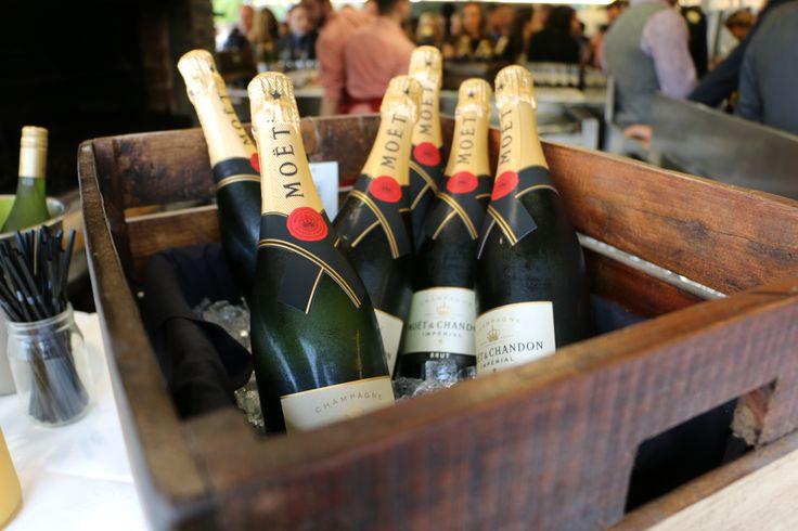Always ensure the #wedding bubbles are ice cold! #WalterPeak #NZweddings #Queenstown #RealJourneys #TSSEarnslaw #LakeWakatipu #NewZealand #weddings