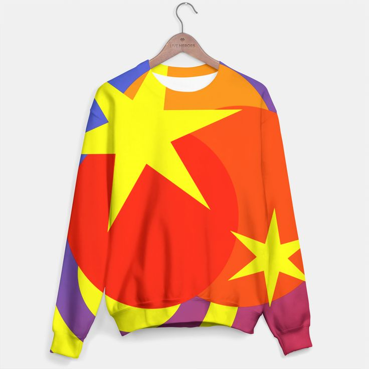 One of its kind, unique full print custom sweater created by you. Stylish, warm and comfy - no matter how often you wash it, it won't fade away or loose it's shape. Create all over printed sweatshirt with galaxy, marijuana, emoji, nebula - choose your favourite! Live Heroes guarantees the highest quality of all products purchased. If your order isn't what you expected, feel free to contact our Customer service team. We'll do our best to make you fully satisfied. Estimated ship...