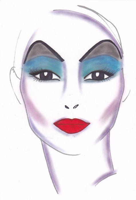 Ursula makeup